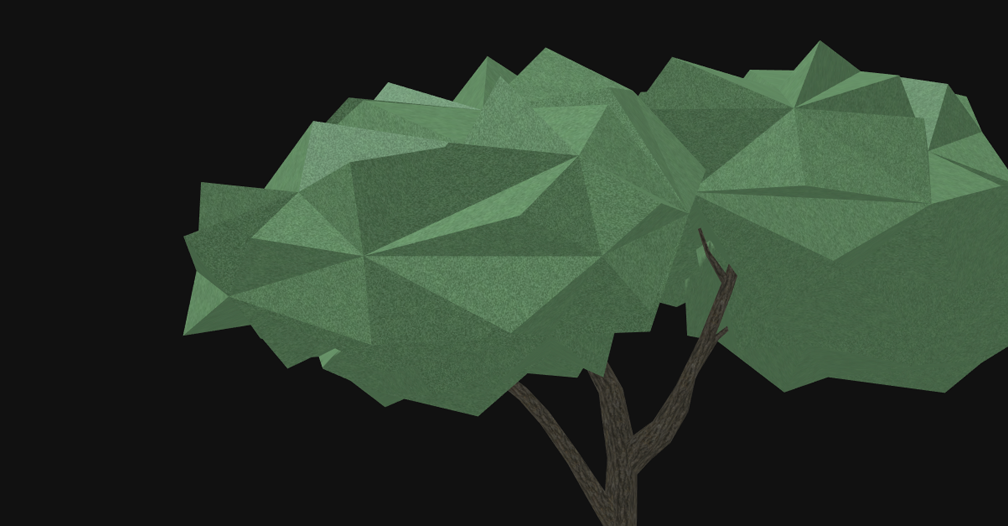 Capalta Tree - Super Low Poly